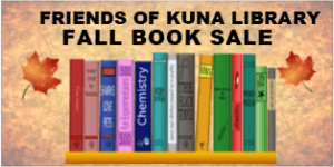Friends of Kuna Library Fall Book Sale